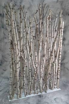 bois bouleau deco decoration de noel en bois de bouleau