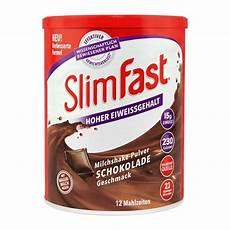 slimfast milchshake pulver schokolade abnehmen mit nu3