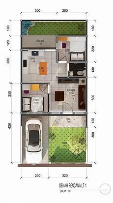 Photo Denah Rumah Tipe 36 Di Jatihandap 1 Desain Arsitek