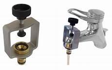 hochdruckreiniger an wasserhahn anschließen wasserhahn adapter ftw15 wasserhahnaufsatz aus edelstahl