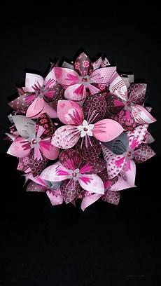 Exemple Bouquet De 15 Fleurs Origami En Papier