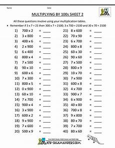 division worksheets 100 problems 4th grade 6742 pin em חשבון כיתה ג