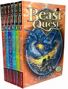 Beast Quest Malvorlagen Novel Beast Quest Series 1 6 Books Set 1 To 6 Brand New Ebay