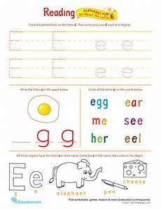 letter e reading worksheets 24118 get ready for reading all about the letter e worksheet education
