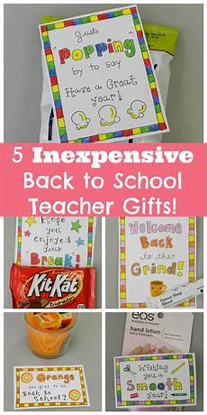 5 inexpensive back to school gifts for teachers free