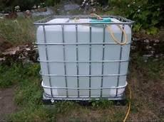 cuve d eau 1000l implantation d une cuve 224 eau de 1000 litres