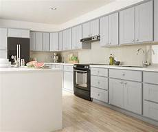Grey Kitchen Base Cabinets by Princeton Base Cabinets In Warm Grey Kitchen The Home