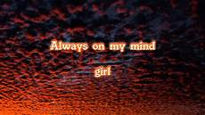 mavado always on my mind contagious riddim lyrics on