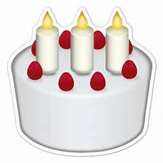 candele auto chion adesivo emoji torta di compleanno
