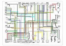 honda cb125tde superdream colour wiring diagram rideybikestraveller