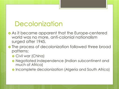 Anti Colonial Nationalism Definition