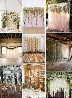 30 unique and breathtaking wedding backdrop ideas my