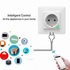 Bakeey Smart Wifi Socket Remote by Bakeey 220v 3000w Wireless Smart Wifi Socket Timing Home