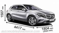 dimensions mercedes gla dimensions of mercedes cars showing length width and
