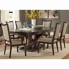 liberty furniture springfield 7 piece pedestal table set dining table sets at hayneedle
