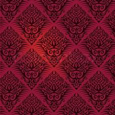 tapetenmuster rot schwarz stock vector colourbox