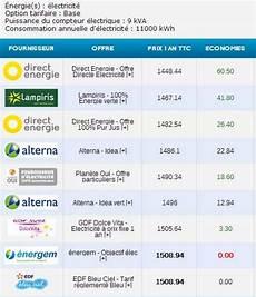 comparer offre electricité economiser sur la facture d 233 lectricit 233 en changeant de