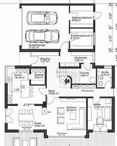 Grundriss Haus Mit Garage Im Keller by Die 41 Besten Bilder Haus Bauen Grundriss Mit Garage