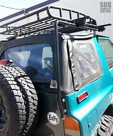 the teal terror gets a roof rack subcompact culture
