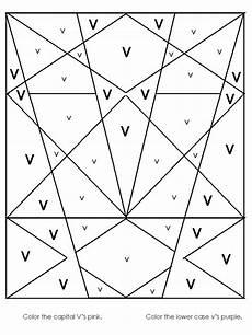 letter v worksheet for kindergarten 23545 image worksheet alphabet recognition