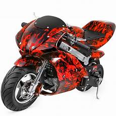 mini pocket bike gas 40cc motorcycle 4 stroke engine epa