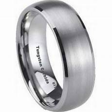 mens tungsten carbide wedding engagement band ring 8mm