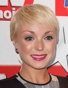 helen george hairstyle helen george short feathery pixie for fine hair