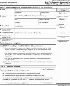 download form i 864w intending immigrant s affidavit of support exemption for free formtemplate
