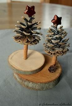 Basteln Mit Baumscheiben Diy Weihnachtsstadt
