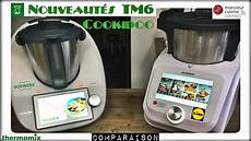 nouveautes thermomix tm6 cookidoo et monsieur cuisine