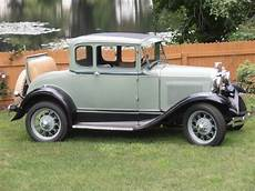1930 Ford Model A St Coupe With Rumble Seat Ford