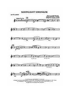 moonlight serenade 1st b flat clarinet alfred