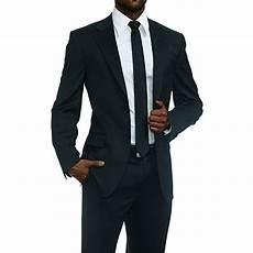 costume noir homme ensemble costume homme de deux pi 232 ces coupe pr 232 s du