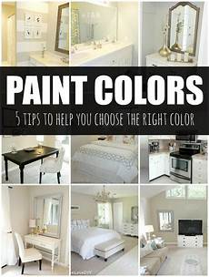 how to choose a paint color 5 tips to help you choose the right color great tips home