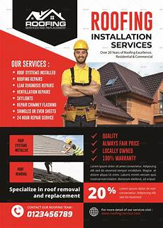 roofing service flyer roofing service flyer food logo ideas packaging design roofing
