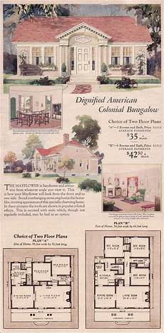 montgomery ward house plans 1930 wardway house plans colonial revival cottage