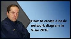 How To Create A Basic Network Diagram In Visio 2016