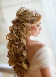 Brautfrisur Offene Haare Mit Schleier