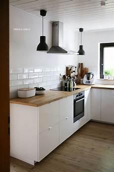 Ikea Küchen Inspiration - ikea ringhult vs voxtorp small warm minimalist kitchen