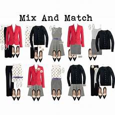 Mix And Match Office Style Envy Capsule Wardrobe