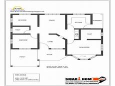 single floor house plan and elevation 1320 sq ft kerala