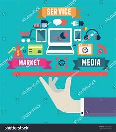 musikanlage media markt flat concept media market service vector stock vector