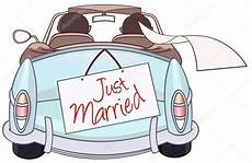 Malvorlagen Auto Just Married Just Married Auto Clipart 9 187 Clipart Station