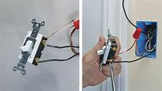 wiring a single pole switch fine homebuilding