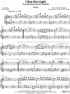 quot i see the light quot from tangled sheet music download print