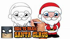 how to draw santa claus drawing lesson