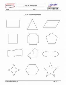 maths lines of symmetry teaching resources