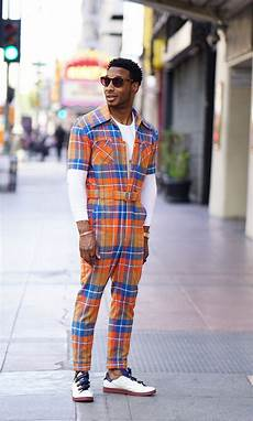 street style vibes in my plaid jumpsuit norris danta ford