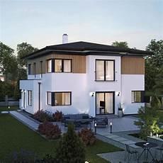 Stadtvilla Neubau Modern Mit Walmdach Architektur Holz