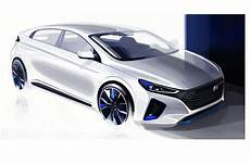 Hyundai Electric Car by Electric Trifector New Hyundai Ioniq With Ev Phev And